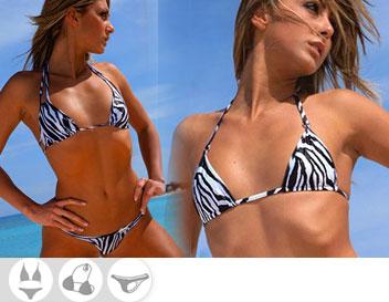 Bikini Divissima primavera estate zebra