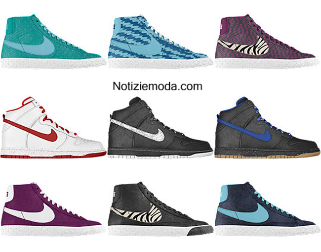 catalogo scarpe nike primavera estate 2014