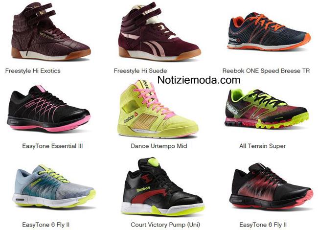 Catalogo scarpe Reebok primavera estate 2014