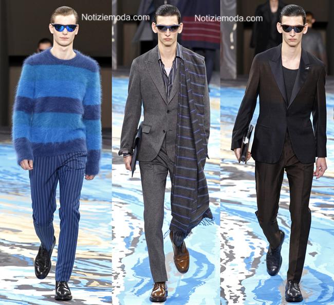 Collezione Louis Vuitton autunno inverno 2014 2015 uomo