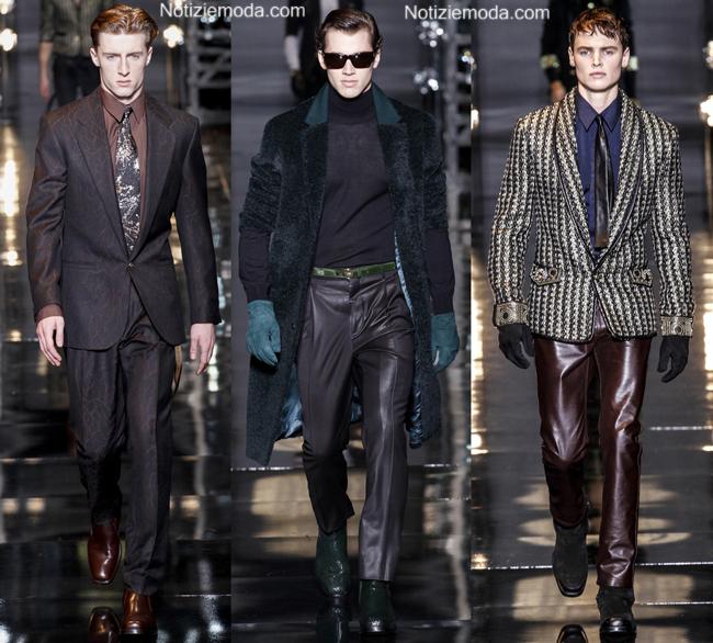 Collezione Versace autunno inverno 2014 2015 uomo