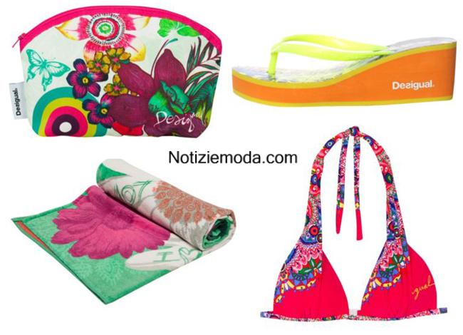 Collezione accessori Desigual moda mare estate 2014
