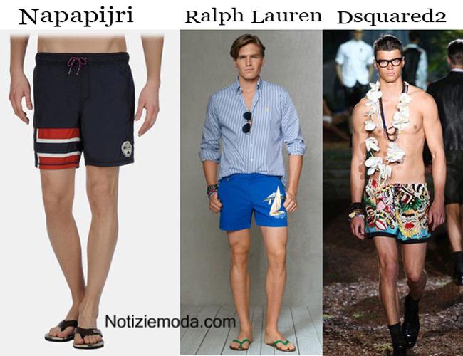 Collezione pantaloncini moda mare Uomo estate 2014
