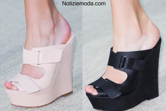 Collezione scarpe Giambattista Valli primavera estate 2014 moda donna