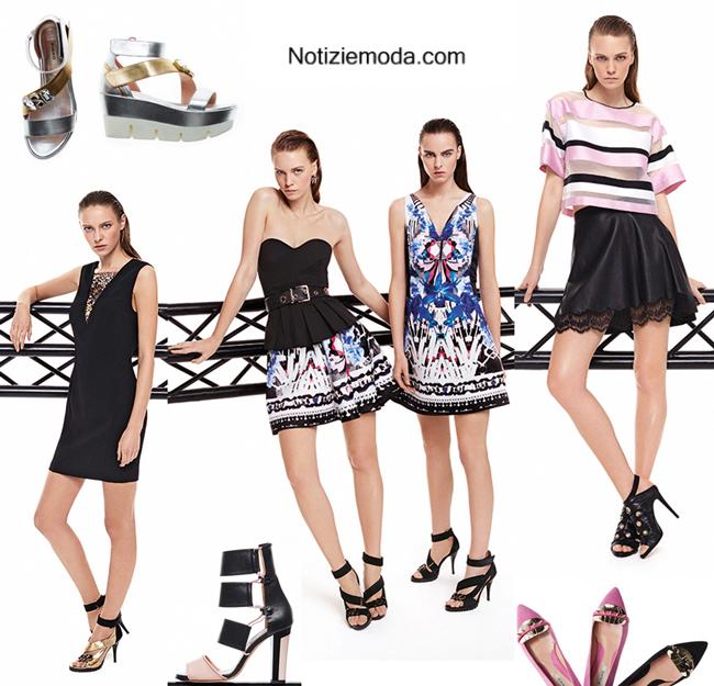 Collezione scarpe Pinko primavera estate 2014 moda donna