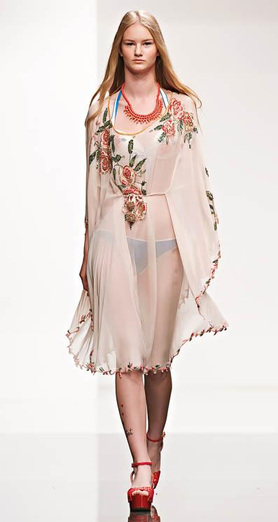 Copricostumi twin set estate 2014 moda mare 3 - Costumi da bagno twin set ...