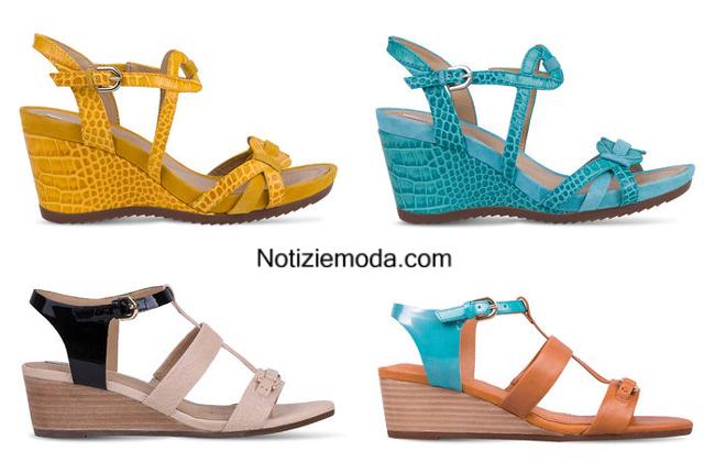 Donna Scarpe 2014 Geox Moda Catalogo Primavera Estate nm0N8w
