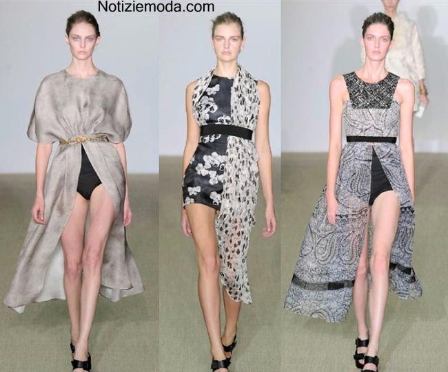 Look Giambattista Valli primavera estate 2014 moda donna