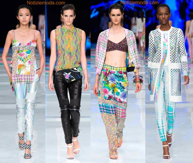 Look Just Cavalli primavera estate 2014 abbigliamento donna