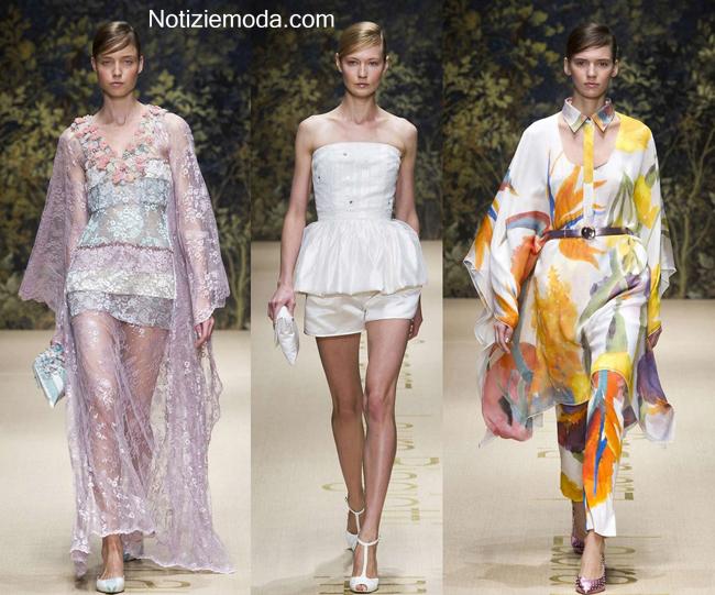 Look Laura Biagiotti primavera estate 2014 abbigliamento donna