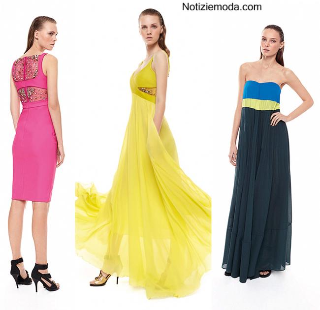 Look abiti Pinko primavera estate 2014 moda donna