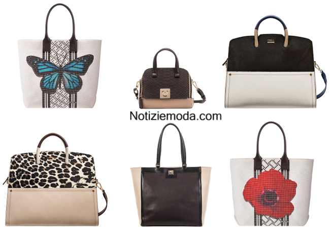 Look borse shopper Furla primavera estate 2014