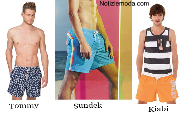 Look costumi uomo estate 2014 moda mare