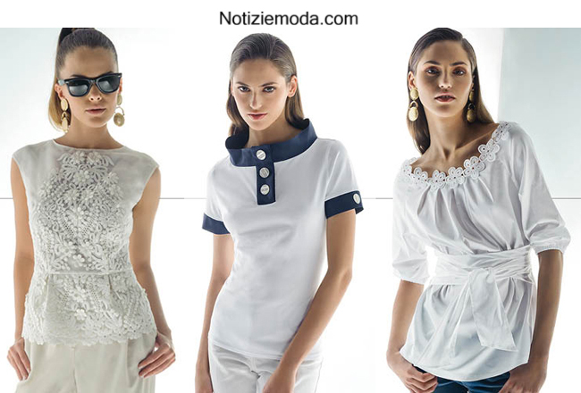 Look donna Nara Camicie primavera estate 2014 moda