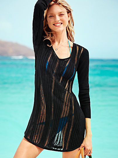 best website 5464d 49fda Moda mare Victoria Secret copricostumi 3