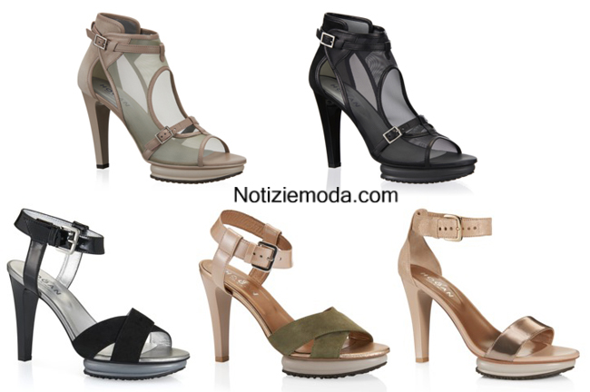 Sandali Hogan primavera estate 2014 moda donna