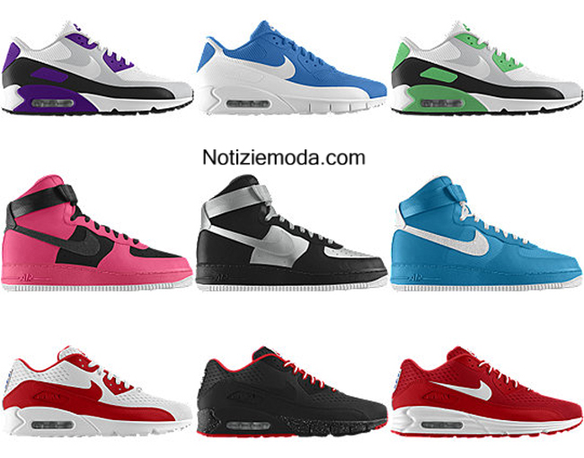 catalogo scarpe nike primavera estate 2014 sneakers donna