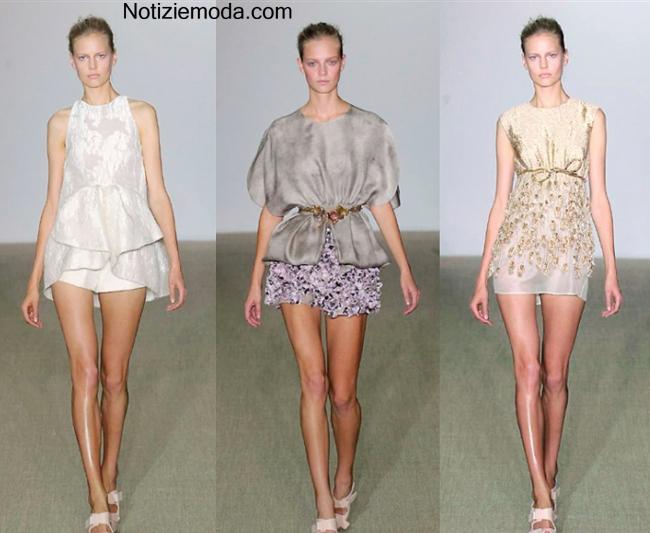 Tendenze Giambattista Valli primavera estate 2014 moda donna
