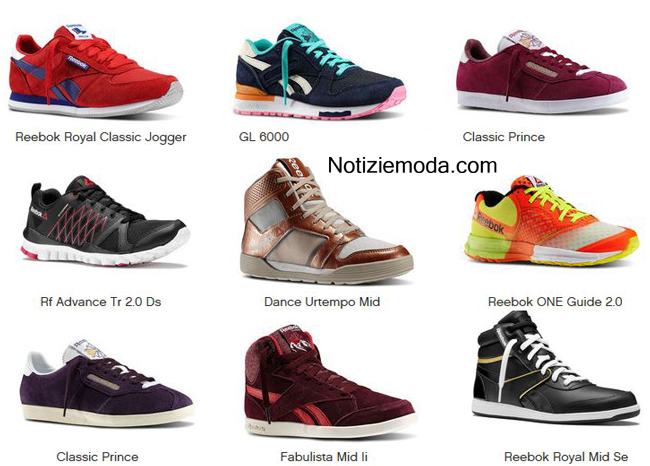 Tendenze Reebok scarpe primavera estate 2014