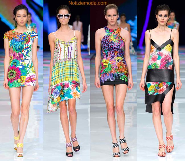 Tendenze abiti Just Cavalli primavera estate 2014 moda donna