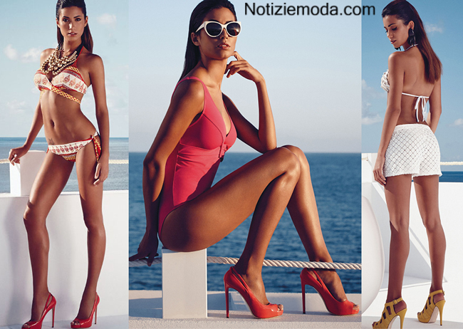 Moda mare philippe matignon estate 2014 costumi da bagno - Costumi da bagno interi golden point ...