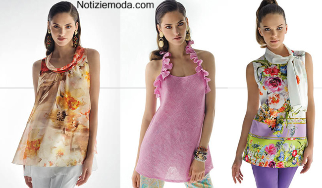 Tendenze moda Nara Camicie primavera estate 2014 donna