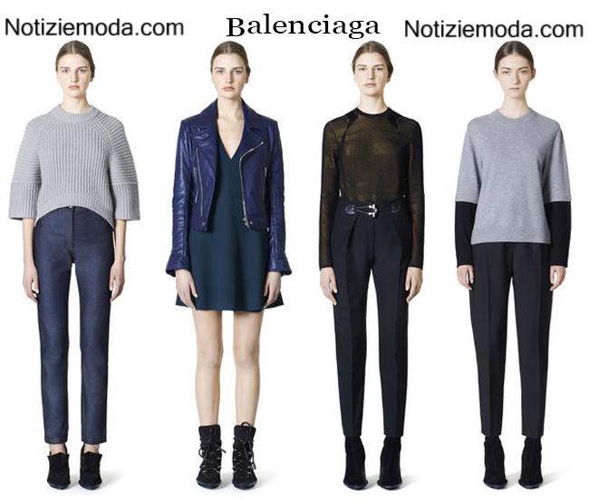 Abbigliamento Balenciaga autunno inverno 2014 2015