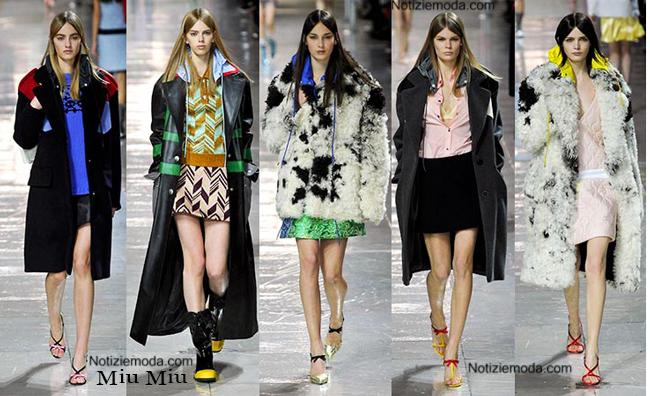 Abbigliamento Miu Miu autunno inverno 2014 2015