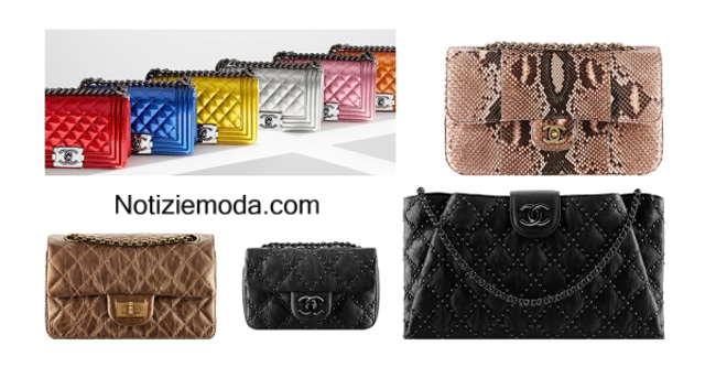 Accessori Chanel borse autunno inverno 2014 2015