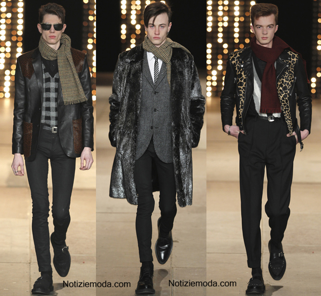 Accessori Saint Laurent autunno inverno 2014 2015 uomo