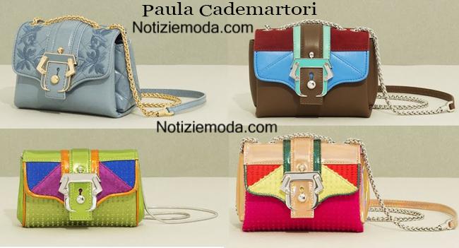 Accessori abbigliamento Paula Cademartori borse 2014 2015