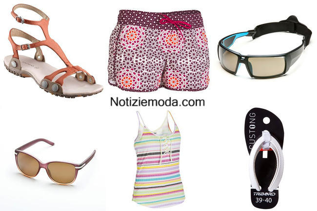 Accessori mare Decathlon beachwear 2014 donna
