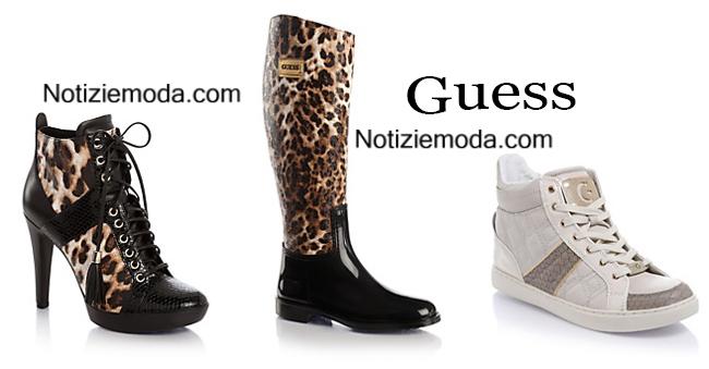 Accessori scarpe Guess autunno inverno 2014 2015