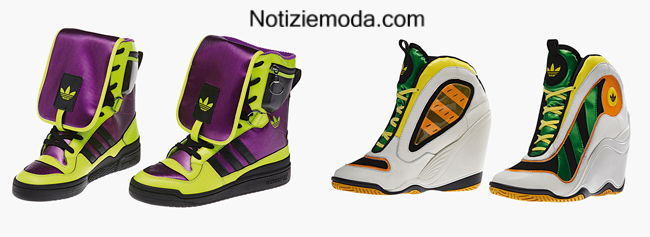 Adidas Jeremy Scott autunno inverno 2014 2015