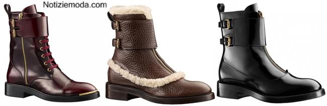 Anfibi Louis Vuitton scarpe autunno inverno 2014 2015