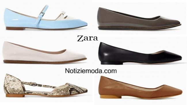 Ballerine Zara scarpe autunno inverno 2014 2015