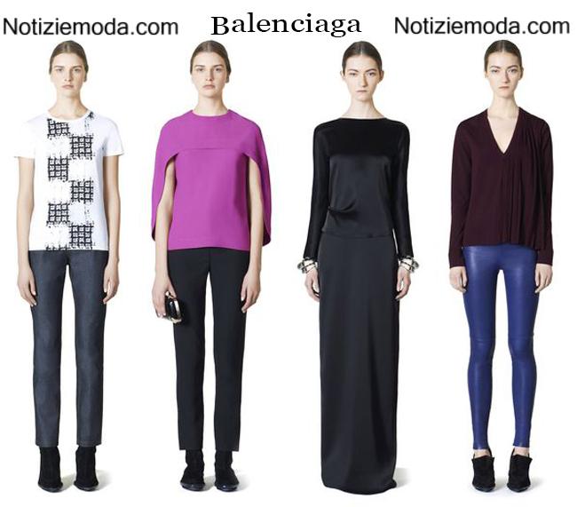 Collezione Balenciaga autunno inverno 2014 2015
