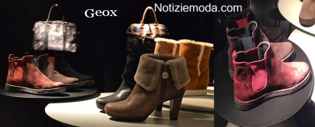 Collezione Geox scarpe autunno inverno 2014 2015