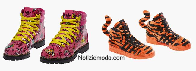 Collezione Jeremy Scott Adidas autunno inverno