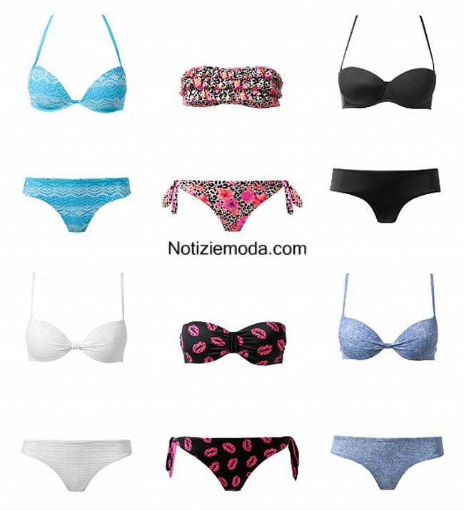 Collezione moda mare Tezenis estate 2014