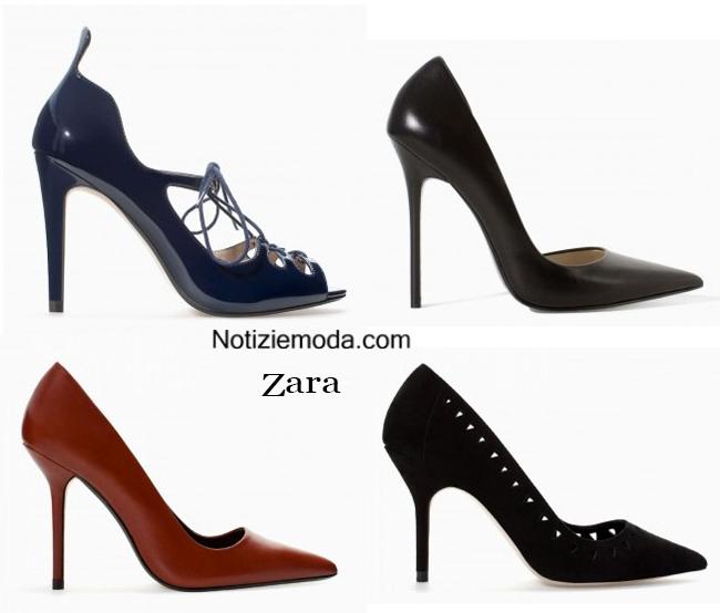 Collezione scarpe Zara autunno inverno 2014 2015