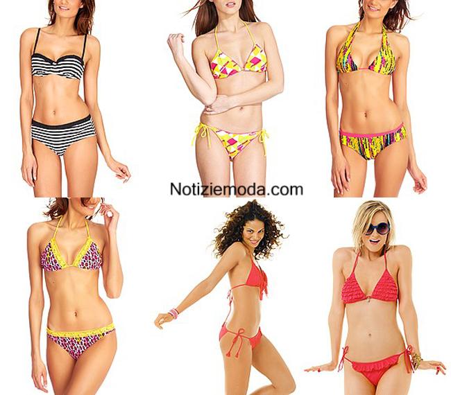 Costumi bikini Kiabi primavera estate 2014