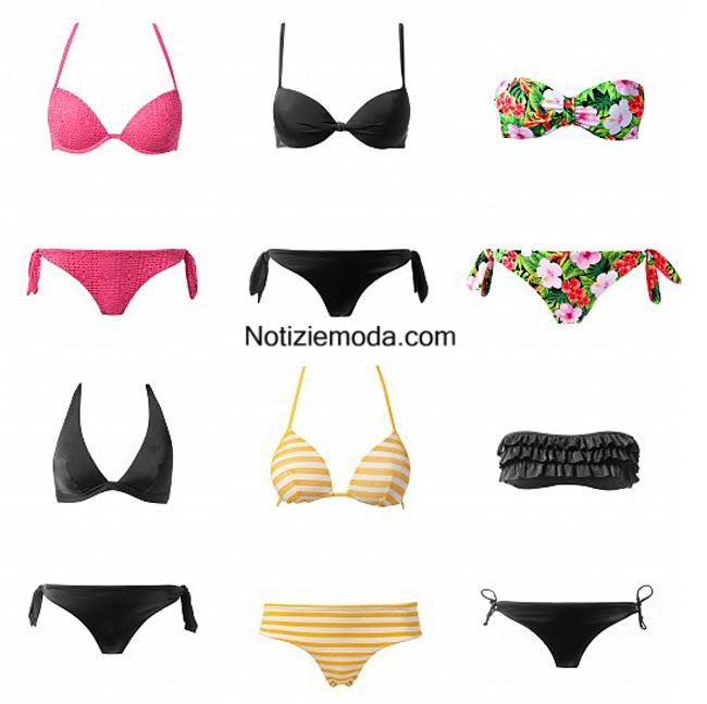 Costumi bikini Tezenis primavera estate 2014