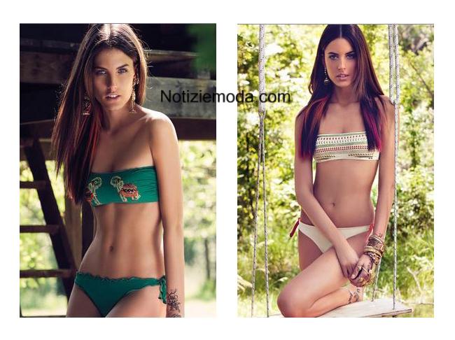 Costumi bikini Verdissima primavera estate 2014
