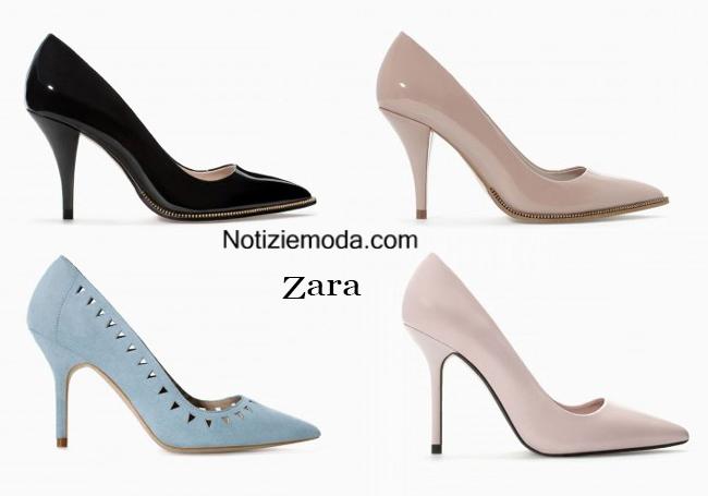 Decollete Zara scarpe autunno inverno 2014 2015