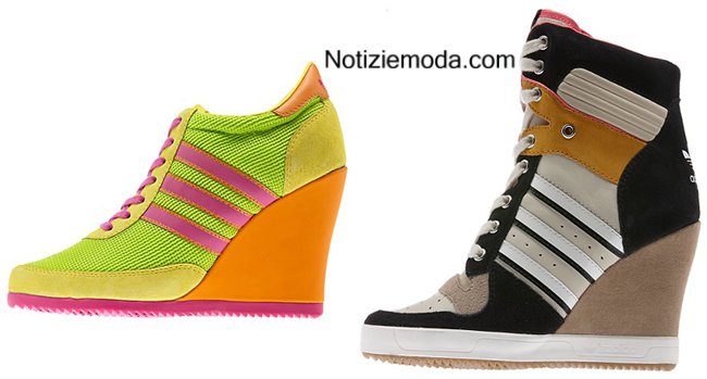 Look Adidas autunno inverno 2014 2015 moda donna