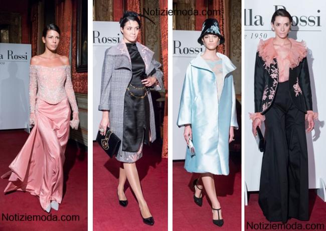 Look Antonella Rossi Alta Roma 2014 2015 moda donna