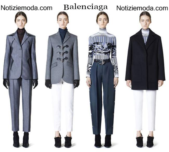 Look Balenciaga autunno inverno 2014 2015 moda donna