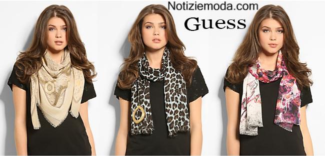 Look Guess autunno inverno 2014 2015 moda donna