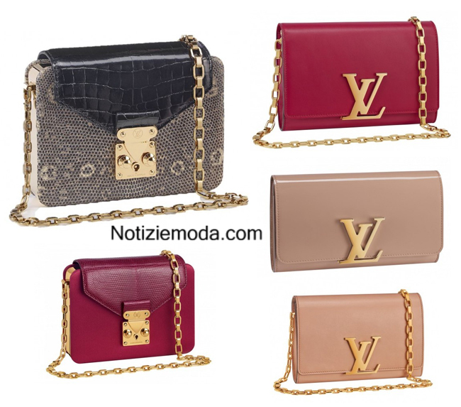 Look Louis Vuitton autunno inverno 2014 2015 moda donna